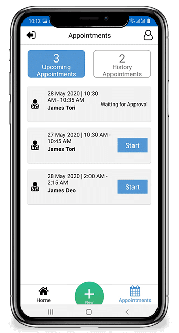 Appointment History